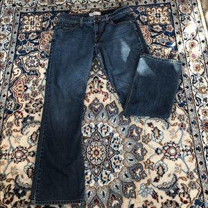 Levi's Signature Stretch Bootcut Jeans—EUC Size 10